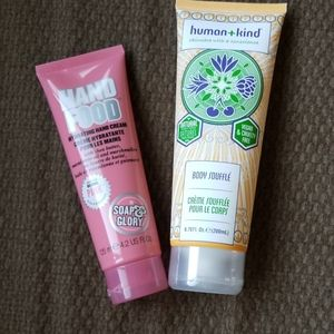 New 2 large body lotions